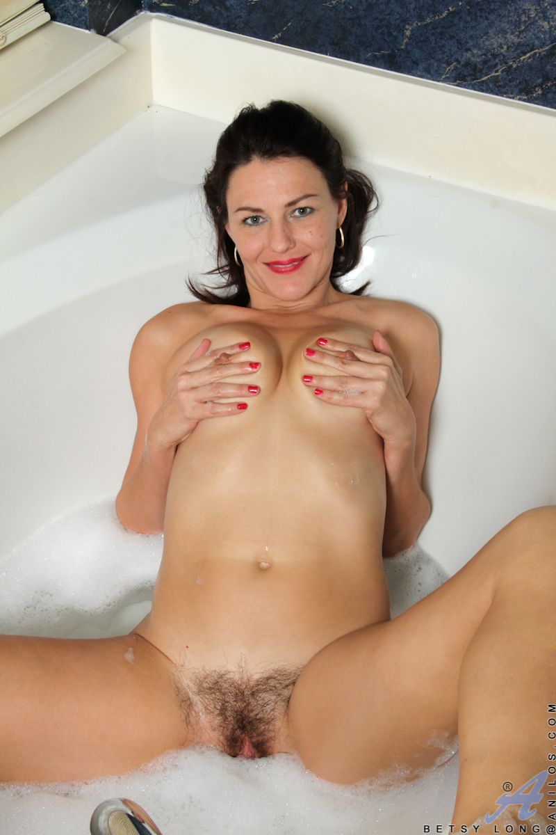 horny housewife fucks her wet hairy pussy with two dildos - movie shark