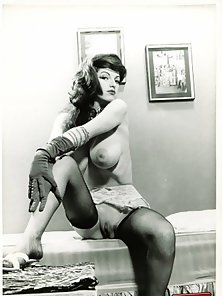 Collection of Vintage Photos with Big Boobs and Hairy Pussies