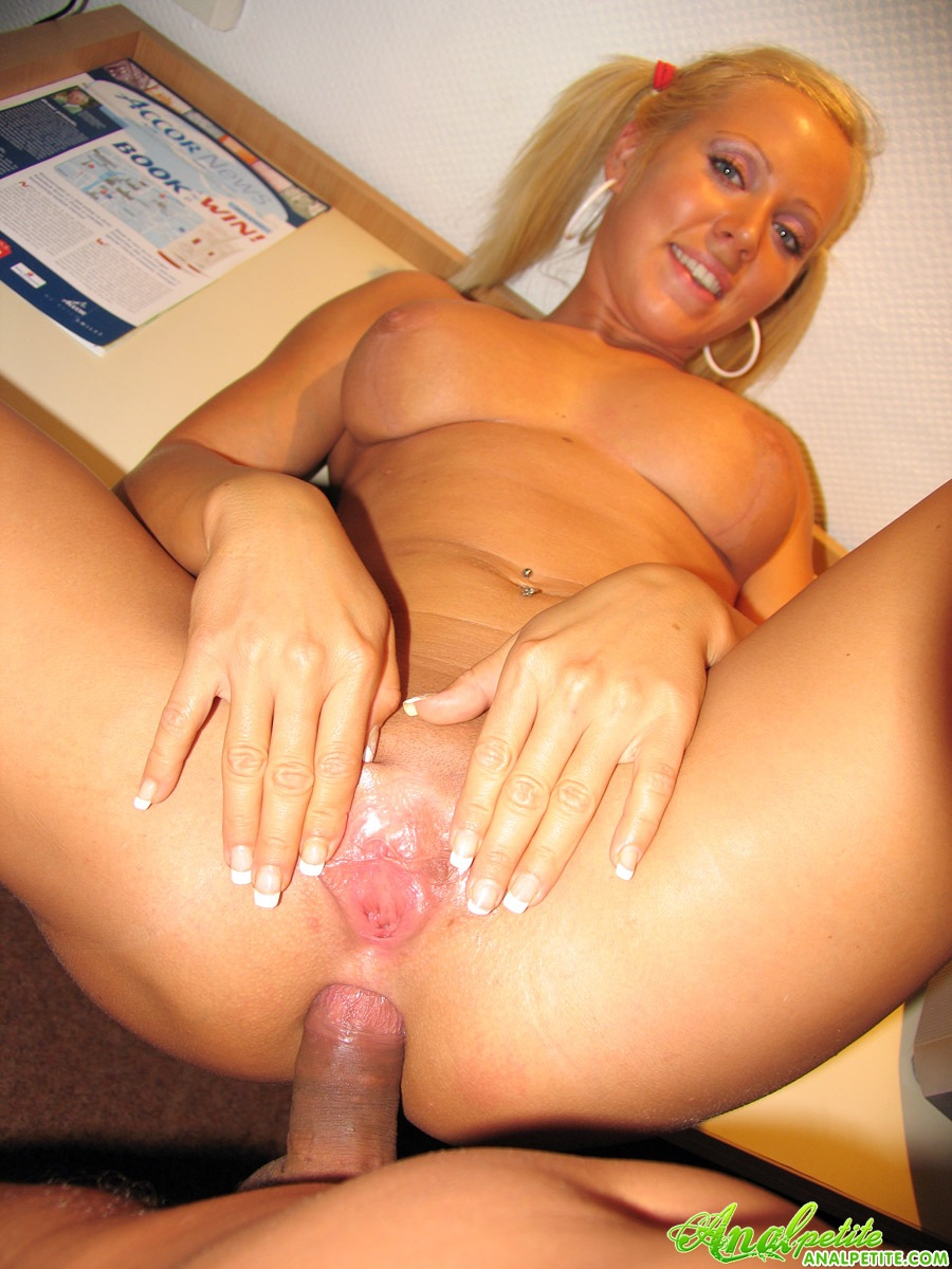 Dirty girl love to gag on cock lucing it up for a footjob 2