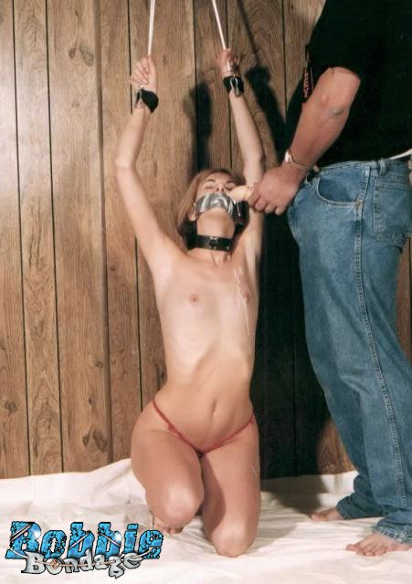 Small Breasted Cutie Getting Tied Up Naked At Home - Movie -8318