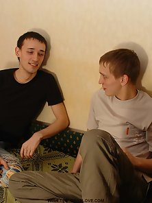 Twinks madly in love watch them get off on video.
