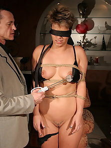 This time he's really going to give her punishment