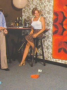 Three horny retro couples love to share their hairy wife