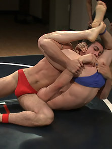 Two ripped studs are fighting for real and the winner fucks the loser.