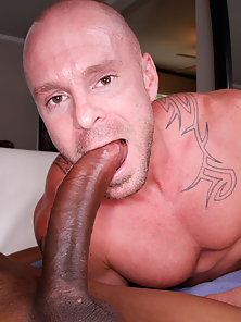 Massive cock punishes this guy ass