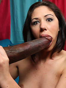 Poor slut gets cock beat and drowned in massive cum load