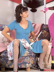 Two sexy and very horny interracial retro lesbians pictures