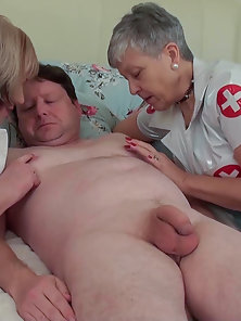 Nasty doctors clinic heals with mature nurse hardcore fuck