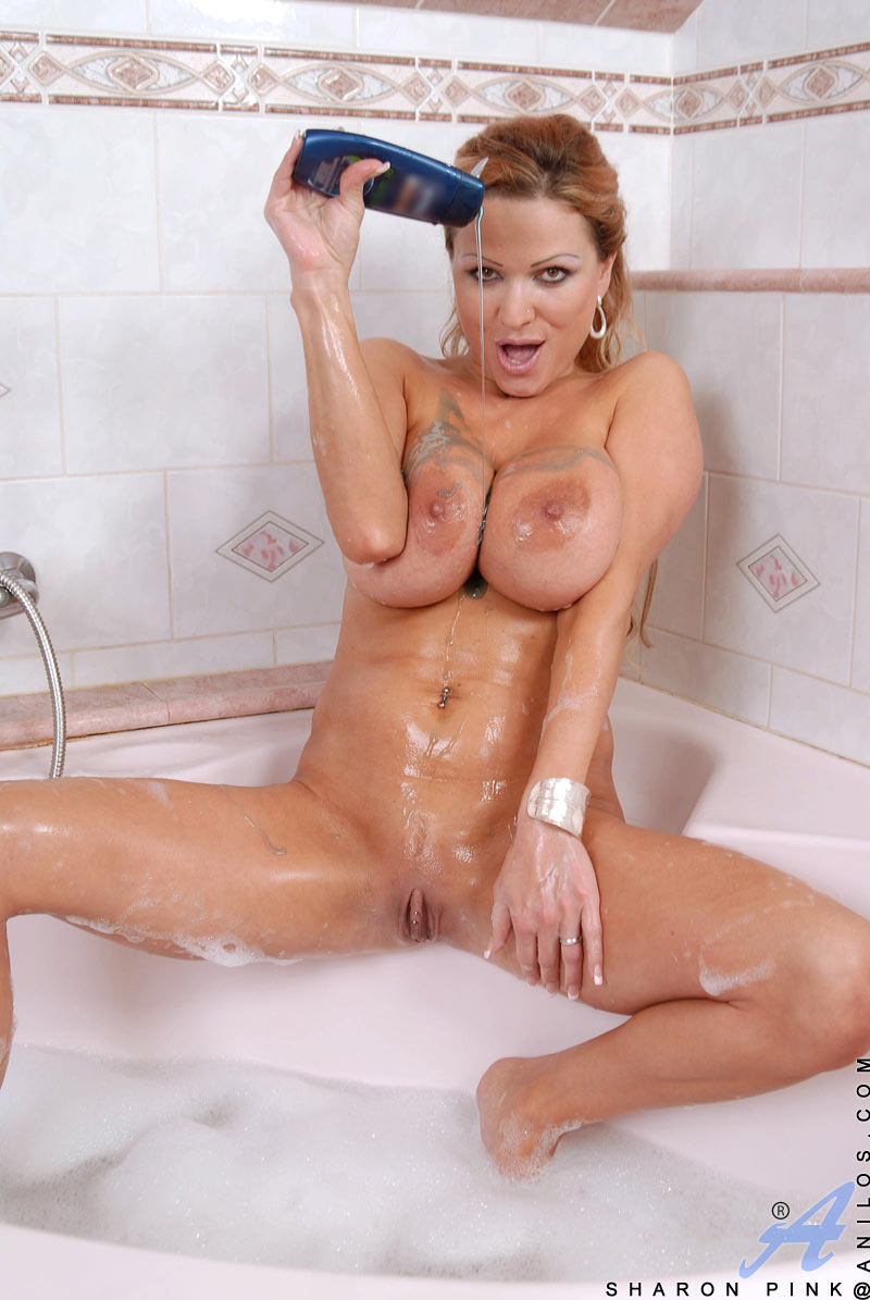 Sharon Pink is a lovely milf