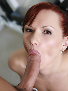Hard bodied Katja Kassin sucks and fucks a hard dick