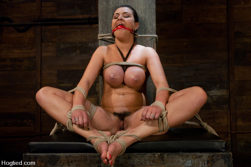 James Deen Outdoor Bondage