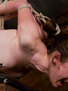 Bound, fucked, helpless and made to cum, how all girls should be.