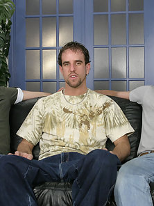 Jeff was a sexy beast, when he said that he was bisexual and had never had a cock larger than 6 inch