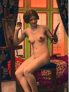Vintage Babes are Posing Naked