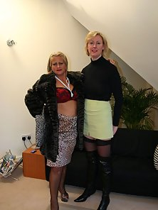 Two filthy London lesbians toying eachother wild