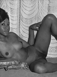 Black sixties ladies showing their fine natural goodies