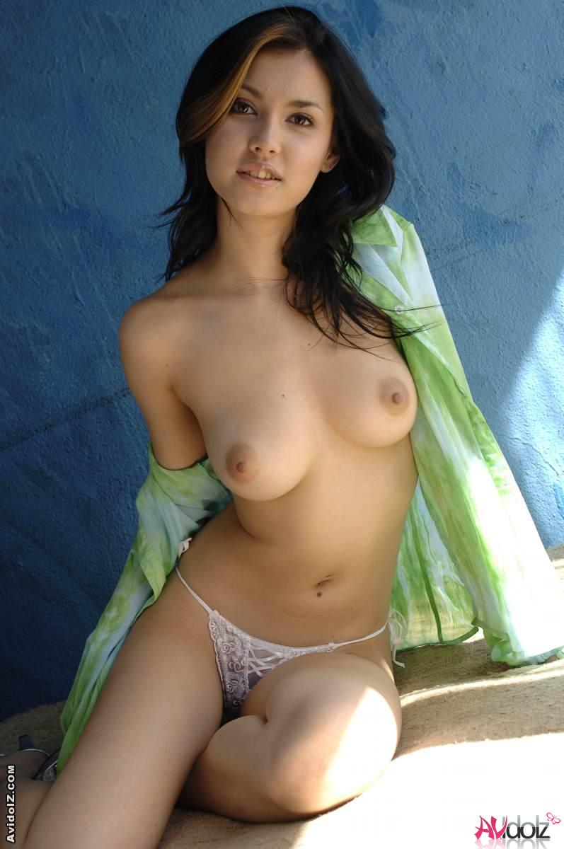 Asian girl in her best friend house