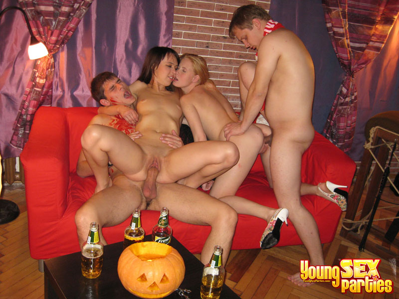 Halloween sex party pics
