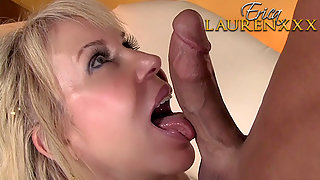 Blonde Pornstar Erica Lauren Getting Deeply Plowed by Hard Dick