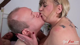 Naught Matures Trisha and Claire Knight Sucked Their Husbands Big Dicks