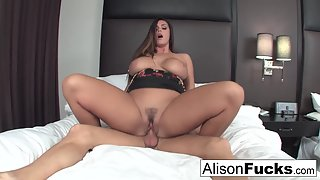 Huge Boobs Whore Alison Tyler Gets Hammered by Her Dude