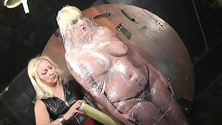 Tattooed Lady is Tied Up And Humiliated