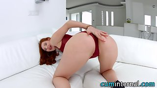 Creampie loving whore anal