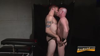 Naughty Dudes Deeply Penetrated Each Other to Their Tight Assholes