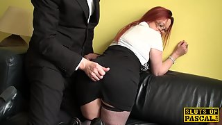 seasoned british sub dominated over and humped