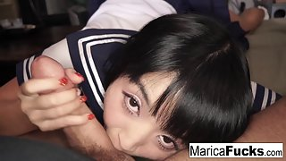 Marica has sex with her new stepfather