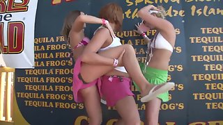 Amazing Combination of Cheering and Naughty Lesbian Play