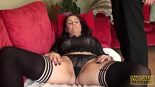Fingered juggs british toying herself