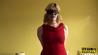 brit bdsm homemaker dominated with nailing