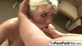 Blonde Zoey Nixon Getting Nailed in Cunt After Blowjob