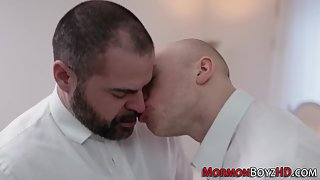 Gay mormon cum anointed